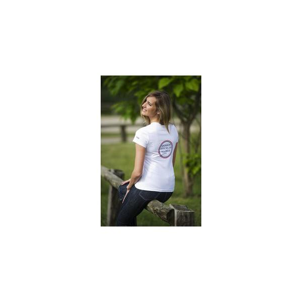 """Tee-shirt Equi-Thème """"Sponsor"""" femme"""